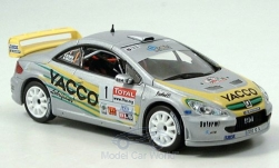 Modellauto - <strong>Peugeot</strong> 307 WRC, No.1, Yacco, Vouilloz/Kunger<br /><br />Norev, 1:43<br />Nr. 139206