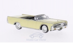 Modellauto - <strong>Lincoln</strong> Continental Convertible, hellgelb, 1963<br /><br />Ricko, 1:87<br />Nr. 139963