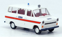 Modellauto - <strong>Ford</strong> Transit IIa Kombi, Polizei (GB)<br /><br />Brekina, 1:87<br />Nr. 140690