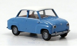 Modellauto - <strong>Glas</strong> Goggomobil Limousine, blauw<br /><br />Brekina, 1:87<br />Nr. 144542