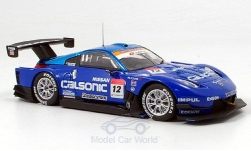 Modellauto - <strong>Nissan</strong> Z, Calsonic Impu, Super GT 500, 2007<br /><br />Ebbro, 1:43<br />Nr. 145427