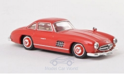Modelcar - <strong>Mercedes</strong> 300 SL (W198), red, 1954<br /><br />Ricko, 1:87<br />No. 147055