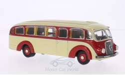 Modellauto - <strong>Mercedes</strong> LO 3500, beige/rot, Stromlinienbus<br /><br />Premium ClassiXXs, 1:43<br />Nr. 147545