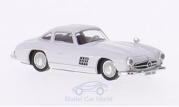 Modellauto - <strong>Mercedes</strong> 300 SL (W198), weiss, 1954<br /><br />Ricko, 1:87<br />Nr. 147785