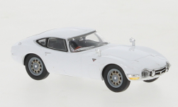 Modellauto - <strong>Toyota</strong> 2000 GT, weiss, RHD<br /><br />Ricko, 1:87<br />Nr. 150566