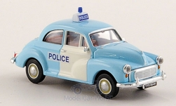 ModelCar - <strong>Morris</strong> Minor Limousine, RHD, Polizei (GB)<br /><br />Brekina, 1:87<br />No. 151563