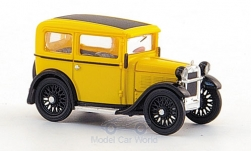 Modellauto - <strong>BMW</strong> Dixi, geel, zonder Vitrine, 1929<br /><br />Ricko, 1:87<br />Nr. 153157