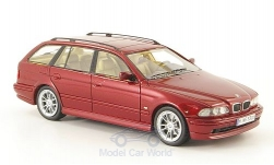 Modelcar - <strong>BMW</strong> 520i Touring (E39), metallic-dark red, 2002<br /><br />Neo, 1:43<br />No. 155402