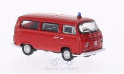 Modelcar - <strong>VW</strong> T2 bus, fire brigade, 1972<br /><br />Welly, 1:87<br />No. 157051