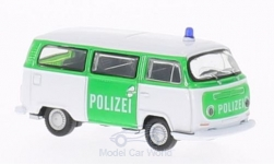 Modelcar - <strong>VW</strong> T2 bus, police, 1972<br /><br />Welly, 1:87<br />No. 157052