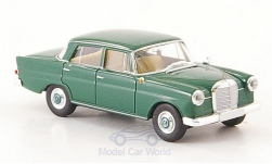 Modelcar - <strong>Mercedes</strong> 190c (W 110), dark green, without showcase<br /><br />Brekina Starmada, 1:87<br />No. 161774