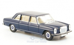 Modelcar - <strong>Mercedes</strong> 220 D long (W115), blue<br /><br />Brekina Starmada, 1:87<br />No. 162695