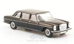 Modelcar - <strong>Mercedes</strong> 220 D long (W115), black, without Kartonschuber<br /><br />Brekina Starmada, 1:87<br />No. 162696
