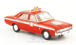 Modelcar - <strong>Ford</strong> 17m (P7b),  AVD, Traffic emergency service<br /><br />Brekina, 1:87<br />No. 163746