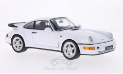 Modellauto - <strong>Porsche</strong> 911 Turbo (964), weiss<br /><br />Welly, 1:18<br />Nr. 163990