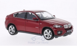 Modelcar - <strong>BMW</strong> X6, metallic-dark red<br /><br />Welly, 1:24<br />No. 164599