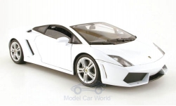 Modelcar - <strong>Lamborghini</strong> Gallardo LP560-4, white<br /><br />Welly, 1:18<br />No. 165248