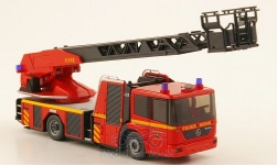 Modellauto - <strong>Mercedes</strong> Econic Metz DL 32, Feuerwehr Lübeck<br /><br />Wiking, 1:87<br />Nr. 165436
