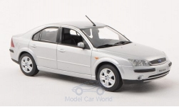 Modellauto - <strong>Ford</strong> Mondeo MKIII, silber, Stufenheck, 2001<br /><br />I-Minichamps, 1:43<br />Nr. 165776