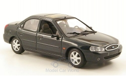 Modellauto - <strong>Ford</strong> Mondeo MKII, metallic-dunkelgrün, Stufenheck, 1997<br /><br />I-Minichamps, 1:43<br />Nr. 165779