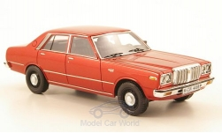 ModelCar - <strong>Datsun</strong> 200L Laurel (C230), metallic-rot<br /><br />Neo Limited 300, 1:43<br />No. 167309