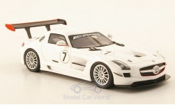 Modellauto - <strong>Mercedes</strong> SLS AMG GT3, No.7, 2010<br /><br />Schuco / Pro.R, 1:43<br />Nr. 168027