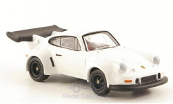 Modellauto - <strong>Porsche</strong> 911 RSR Turbo, wit<br /><br />Bub, 1:87<br />Nr. 168497