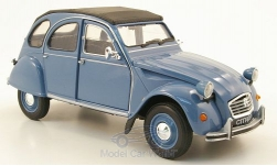 Modelcar - <strong>Citroen</strong> 2CV, blue, without showcase<br /><br />Welly, 1:24<br />No. 169385