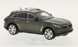 ModelCar - <strong>Infiniti</strong> FX50 S, metallic-grau, 2010<br /><br />Neo Limited 300, 1:43<br />No. 169430