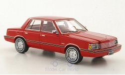 ModelCar - <strong>Dodge</strong> Aries, rot, (K-Car), 1983<br /><br />Neo Limited 300, 1:43<br />No. 169501