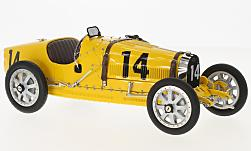 Modelcar - <strong>Bugatti</strong> T35 Grand Prix, No.14, Nation Colour Projekt, Belgium, without showcase<br /><br />CMC, 1:18<br />No. 170253
