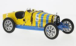 Modelcar - <strong>Bugatti</strong> T35 Grand Prix, No.5, Nation Colour Projekt, Sweden<br /><br />CMC, 1:18<br />No. 170256