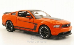 Modellauto - <strong>Ford</strong> Mustang Boss 302, dunkelorange<br /><br />Maisto, 1:24<br />Nr. 170293