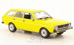 ModelCar - <strong>VW</strong> Passat I Variant (Typ 33), gelb, 1974<br /><br />I-Minichamps, 1:43<br />No. 170804