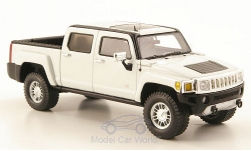 Modellauto - <strong>Hummer</strong> H3T, weiss, 2008<br /><br />Luxury Collectibles, 1:43<br />Nr. 171803