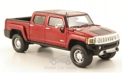 Modellauto - <strong>Hummer</strong> H3T, metallic-dunkelrot, 2008<br /><br />Luxury Collectibles, 1:43<br />Nr. 171804