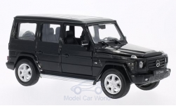 Modellauto - <strong>Mercedes</strong> G-Klasse, schwarz<br /><br />Welly, 1:24<br />Nr. 172198