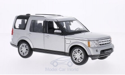 ModelCar - <strong>Land Rover</strong> Discovery 4, silber<br /><br />Welly, 1:24<br />No. 172199