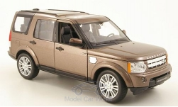 Modellino - <strong>Land Rover</strong> scoperta 4, metallic-marone<br /><br />Welly, 1:24<br />n. 172200