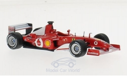 Modelcar - <strong>Ferrari</strong> F2002, No.1, Vodafone, formula 1, M.Schumacher, without showcase<br /><br />SpecialC.-45, 1:43<br />No. 172404