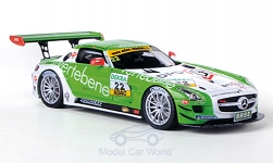 Modellauto - <strong>Mercedes</strong> SLS AMG GT3, No.22, MS Racing, Vertebene, ADAC GT Masters, /F.Stoll, 2011<br /><br />Schuco / Pro.R, 1:43<br />Nr. 172945