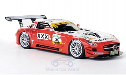Modellauto - <strong>Mercedes</strong> SLS AMG GT3, No.36, MS Racing, Musterring, ADAC GT Masters, /M.Götz, 2011<br /><br />Schuco / Pro.R, 1:43<br />Nr. 172946