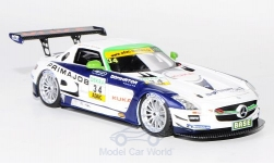 Modellauto - <strong>Mercedes</strong> SLS AMG GT3, No.34, Heico Motorsport, Primajob, ADAC GT Masters, L.D.Arnold, 2011<br /><br />Schuco / Pro.R, 1:43<br />Nr. 172950