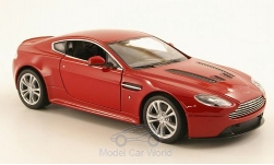 Modellauto - <strong>Aston Martin</strong> V12 Vantage, metallic-rot, 2010<br /><br />Welly, 1:24<br />Nr. 173118