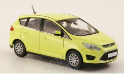 Modellauto - <strong>Ford</strong> C-Max, metallic-hellgelb, 2010<br /><br />I-Minichamps, 1:43<br />Nr. 173965