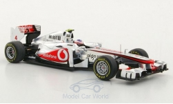 Modelcar - <strong>McLaren</strong> MP4-26, No.4, Vodafone, GP Hungary, Decals liegen by, J.Button, 2011<br /><br />Spark, 1:43<br />No. 175319