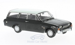 Modelcar - <strong>Ford</strong> Taunus 17m P3 Turnier, black/light beige, 1960<br /><br />Neo, 1:43<br />No. 176699