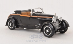 Modellauto - <strong>Lorraine-Dietrich</strong> Typ B3-6 Sport Roadster schwarz, Mullin Automotive Car Collection, 1928<br /><br />Minichamps, 1:43<br />Nr. 178308