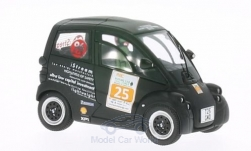 Modellauto - <strong>Gordon Murray</strong> T25 City Auto, mat zwart, 2012<br /><br />Spark, 1:43<br />Nr. 178871