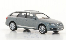 Modellauto - <strong>Audi</strong> A6 Allroad quattro, metallic-grau, 2006<br /><br />I-Herpa, 1:87<br />Nr. 180168